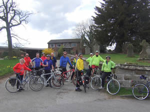 Chester Group at Halkyn (photo by Sue Booth)