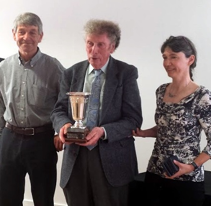 Ch&NW CTC Tourist Competition winners – John Dilworth, Ifor Jones and Lowri Evans. Dave Statham was not able to attend.